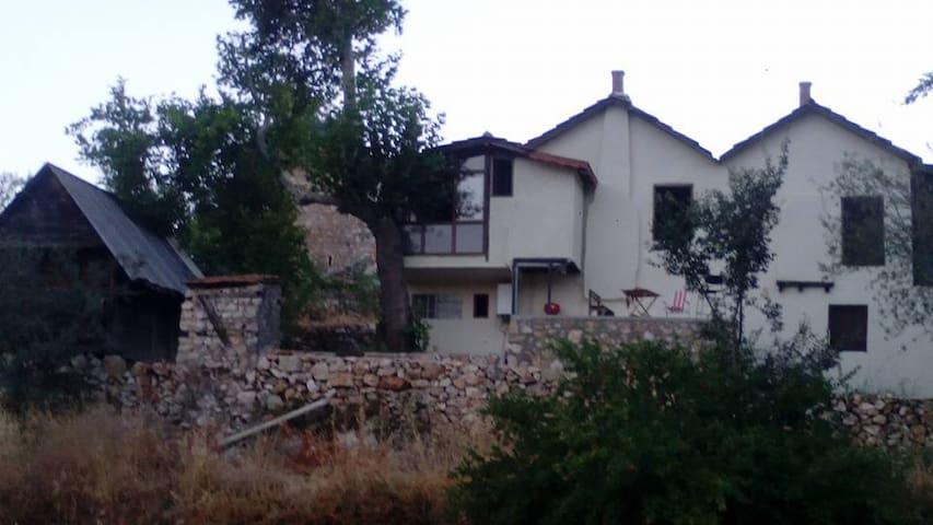 Tarihi Taş Ev, Doğa ve Müzik Stüdyosu - Çukurbağ Köyü - Villa