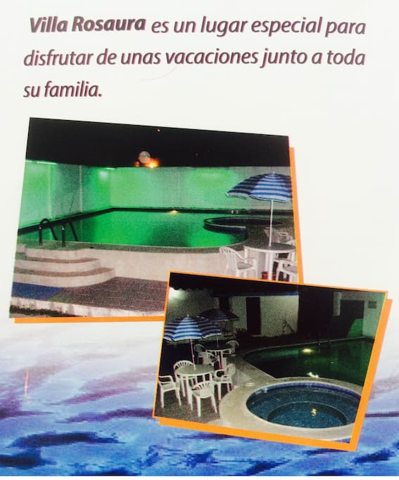 Swimming Pool and Jacuzzy
