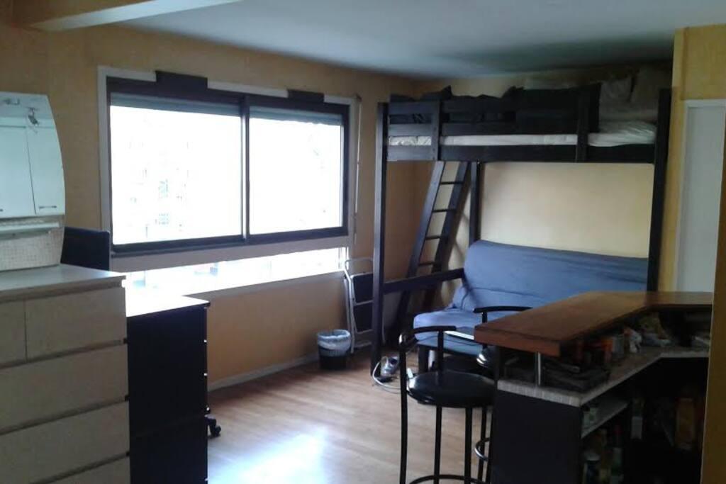 studio paris 12eme appartements louer paris le de france france. Black Bedroom Furniture Sets. Home Design Ideas