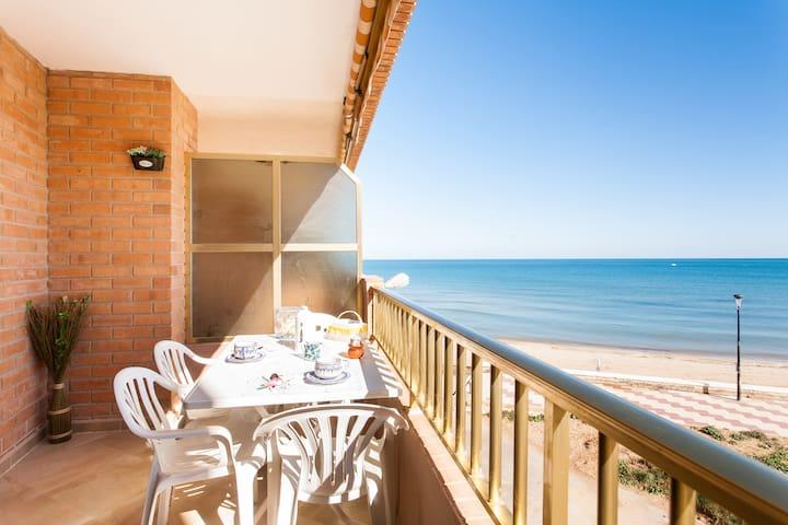 RELAJACIÓN en 1ª linea playa & WIFI