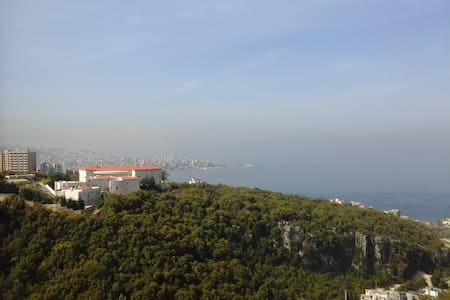 Mountain ans sea view very calm place - Jounieh