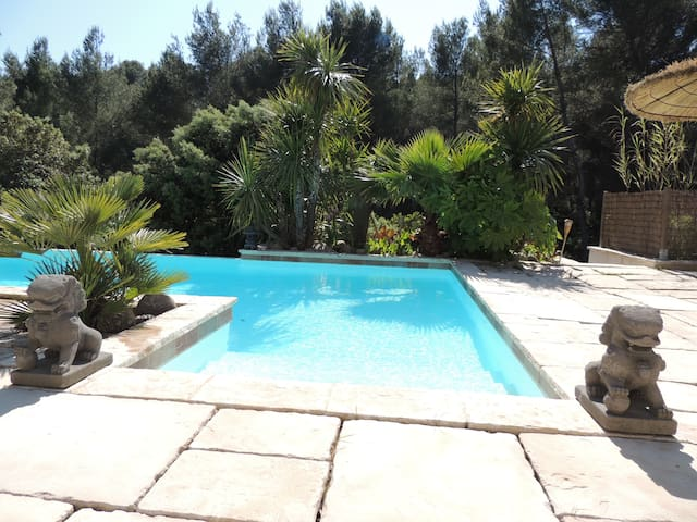 RDVilla piscine - dépaysement au pays des cigales - Ceyreste - Rumah