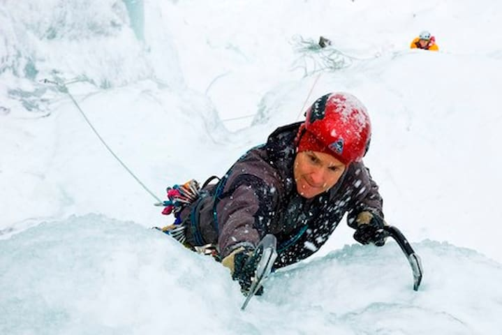 Rjukan is reckoned one of the best places in Europe for ice climbing. Come and see yourself