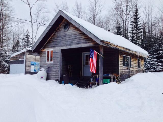 Baker Hill Bunker - Salem Township - Blockhütte