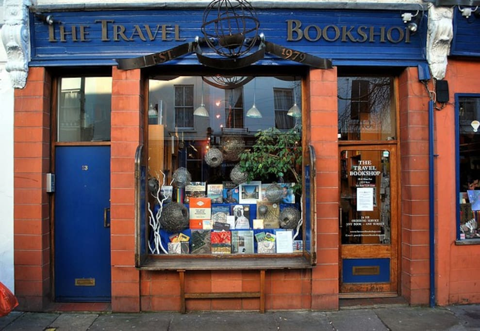 This is the Notting Hill Film Bookshop off Portobello Road ....3 mins walk