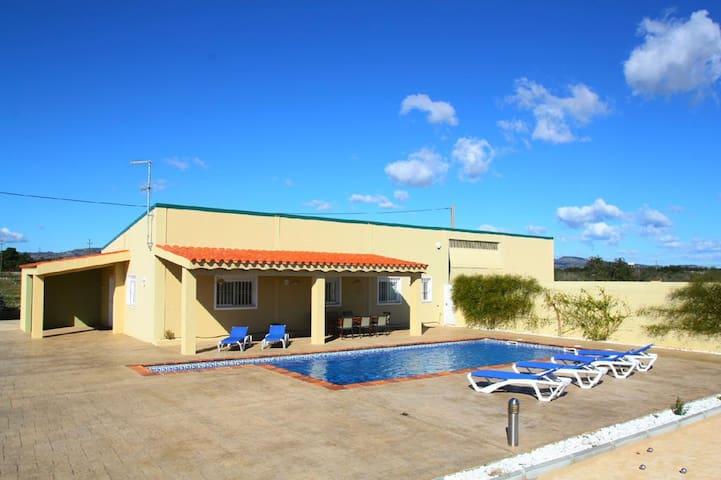 Casa de campo piscina, 10min playa - El Lligallo del Gànguil
