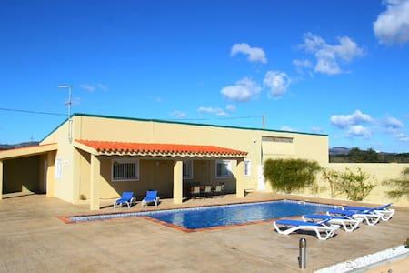 Casa de campo piscina, 10min playa - El Lligallo del Gànguil - Hus