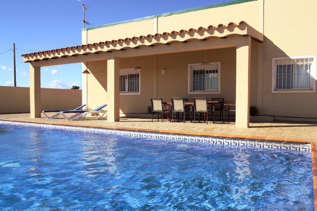 Casa de campo piscina 10min playa houses for rent in el lligallo del g nguil catalunya spain - Piscinas en el campo ...