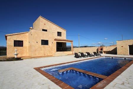Casa de vacaciones con piscina - Camarles - Ev