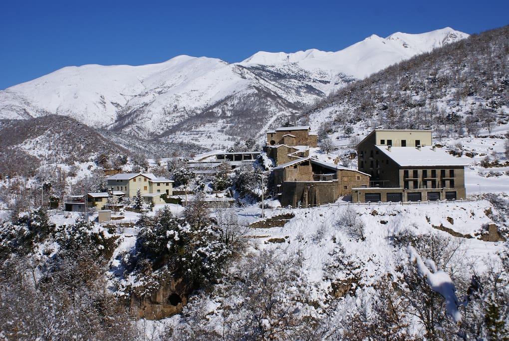 Foto de Buira a l'hivern