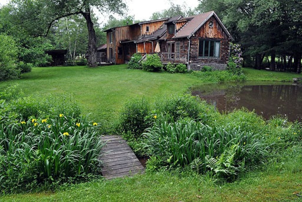 The gardens include an apple orchard, vegetable and herb garden, tree house, sand box, and 2 firerings