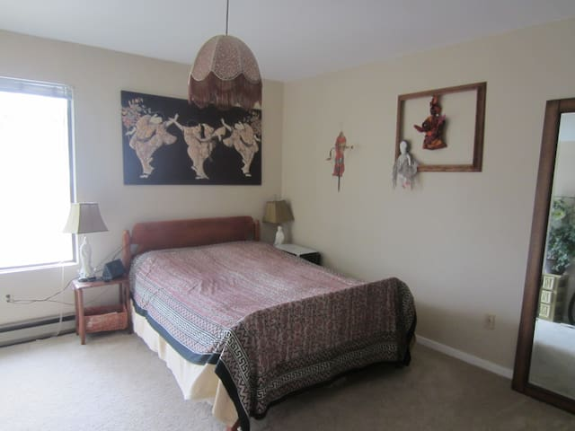 Spacious bedroom and parking/Lake City