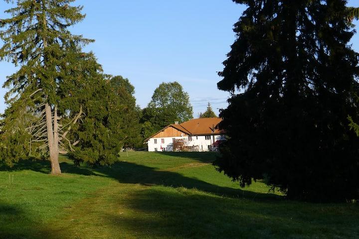Idyllisch gelegenes Haus im Jura