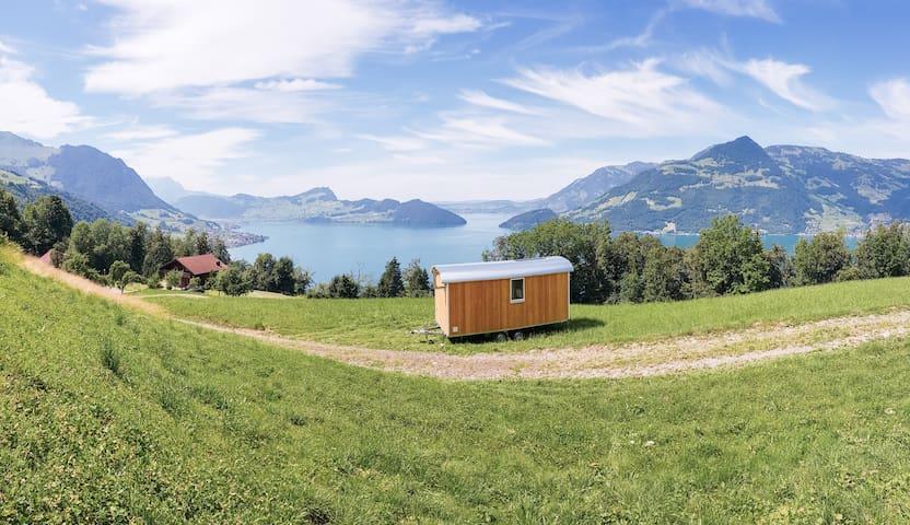 Chalet mobile - Einfachheit mit Panoramablick