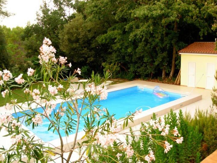 Casa in Villa, giardino, piscina