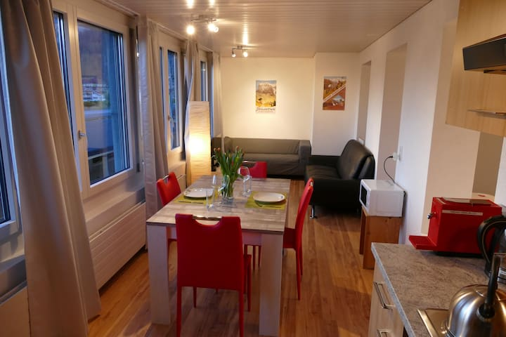 DownTown 61 - Studio for 2 people - Interlaken - Apartamento