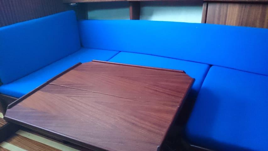 Gábor vitorlás hajója - Balatonlelle - Bot