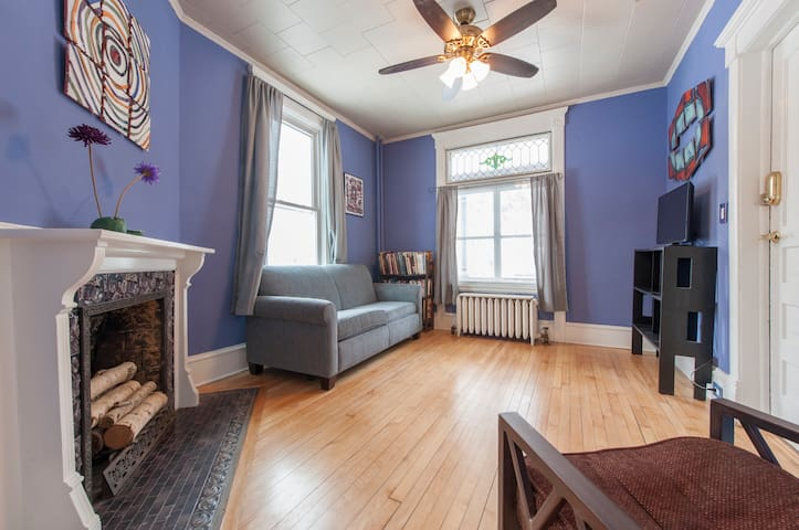 Artist Victorian in NE 1BD - Minneapolis - Daire