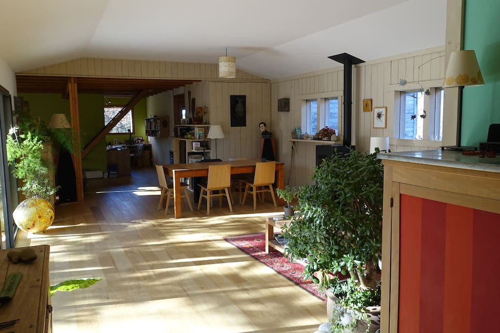 Salon, salle à manger