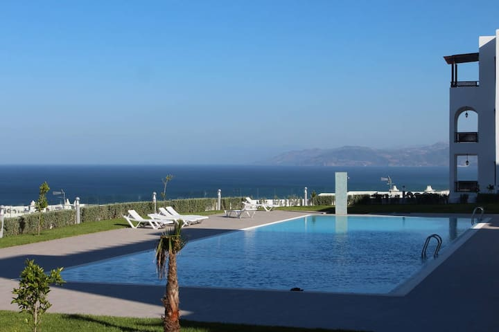 Beautiful apartment with beach view in Cabo Negro - Cabo Negro - Wohnung