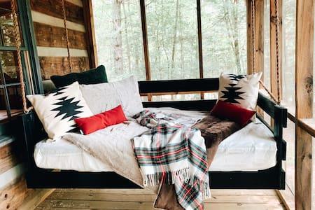 Fire Pit, Porch Swing Bed, Aska Adv, Toccoa Access