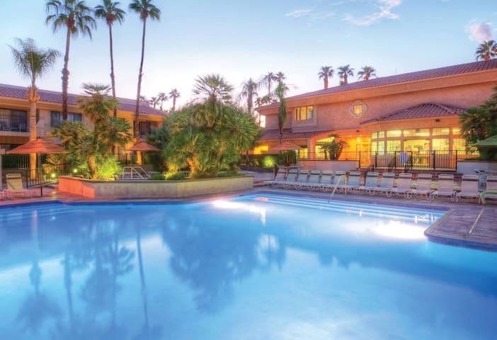 Coachella Week 2 Resort Living Pool & Hot Tub