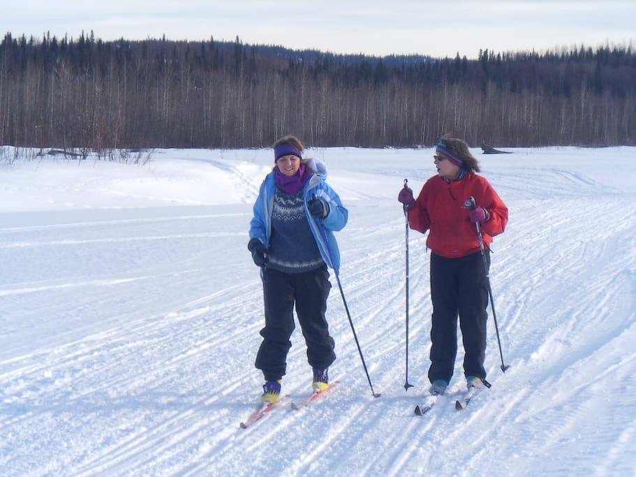 Ski or ice skate on the lake and access ski trails right out your door.