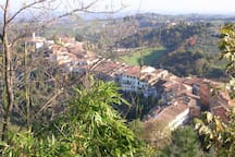 San Miniato, the medieval village ten minutes from our place.