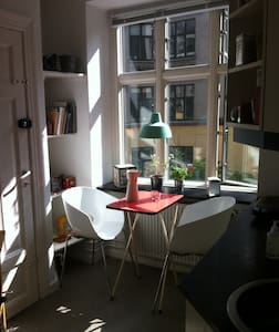 Cosy apartment, fantastic location - Copenhaguen - Pis