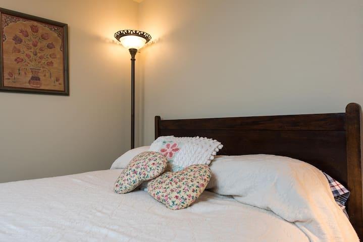 Cozy downstairs bedroom