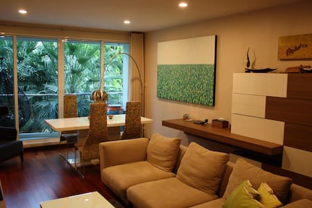Cozy Condo, River View, 2bed/2bath - Bangkok - Apartment