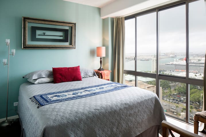 Chic Downtown Guest Room on Harbor - Honolulu - Lägenhet