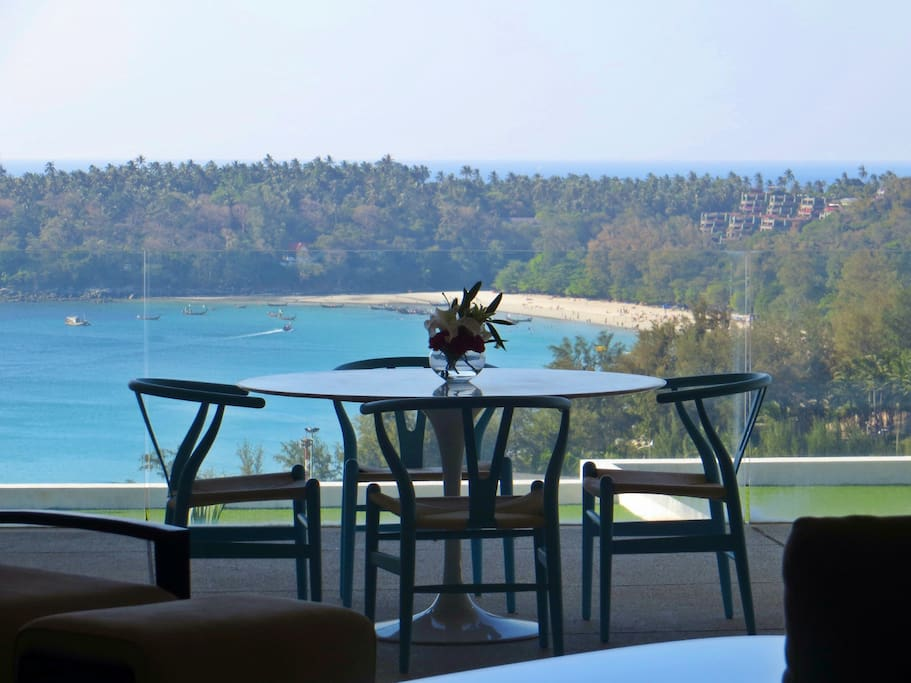 Outdoor Dining With Spectacular Views Of Kata Beach