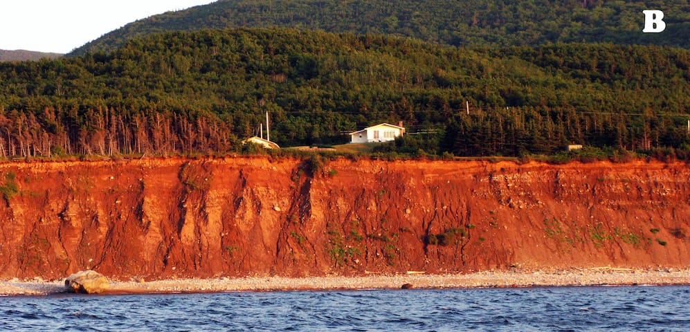 Ocean View on the Cabot Trail Cape Breton Island