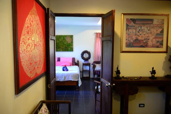 Spacious & cosy  Sugarcane-Villa with roof-terrace - Koh Mak - Villa