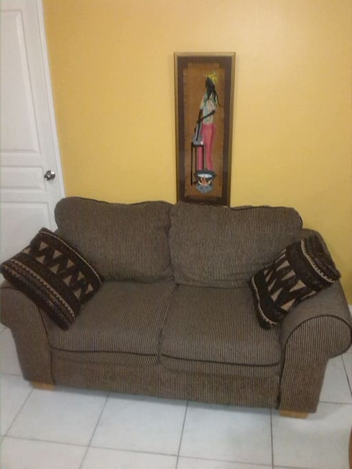 Seat in living area