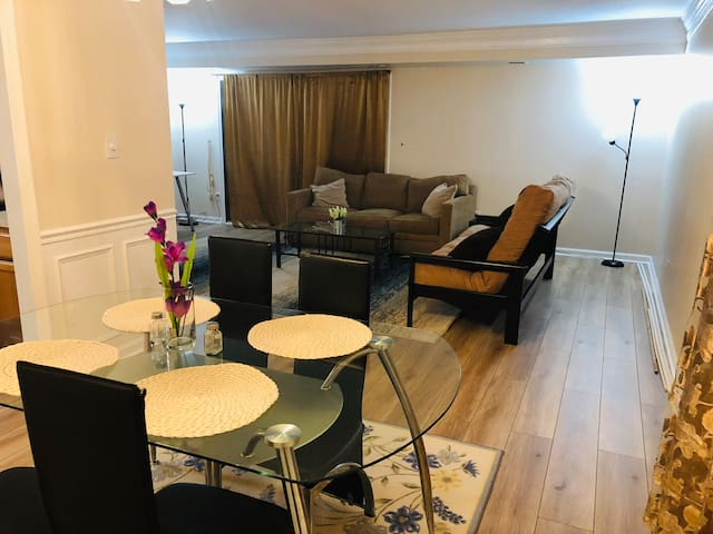 2Close to DC, free parking,for 6 ppl