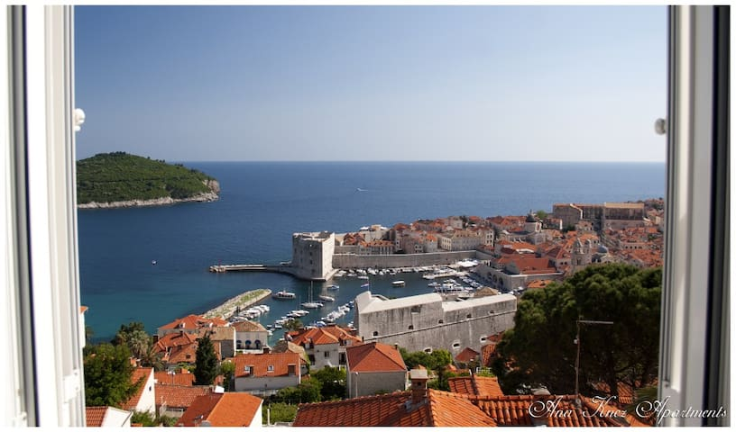 2bedrooms apartment/sea view - Dubrovnik - Lägenhet