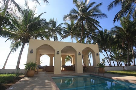 Friendly beach-house at the Indian Ocean. - Msambweni - Hotel butik