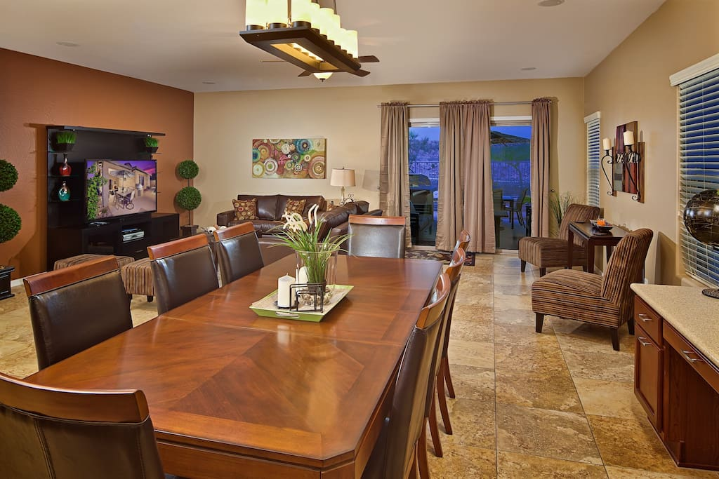 Open concept floor plan with tons of light!