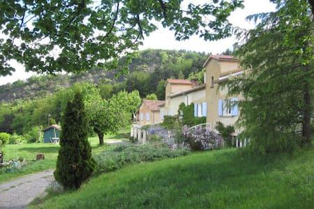 LE CHATAIGNIER - Gîte isolé pour 4/5 personnes - Aspres-sur-Buëch - Lodge immerso nella natura