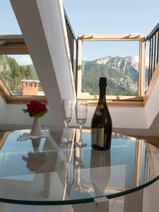 Penthouse in a charming alpine village Ratece (6) - Rateče - Loft