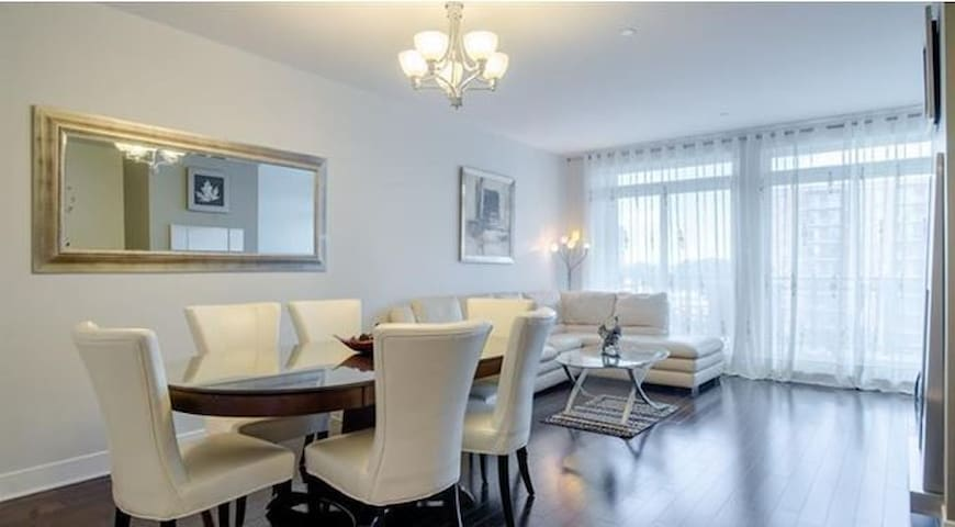 Luxurious condo in the Centropolis of Laval