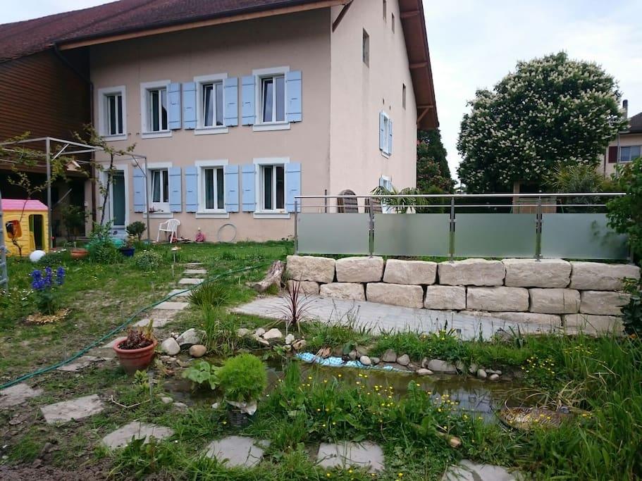 Ferme r nov e proche du lac chambres d 39 h tes louer - Chambre d hote luxembourg petite suisse ...