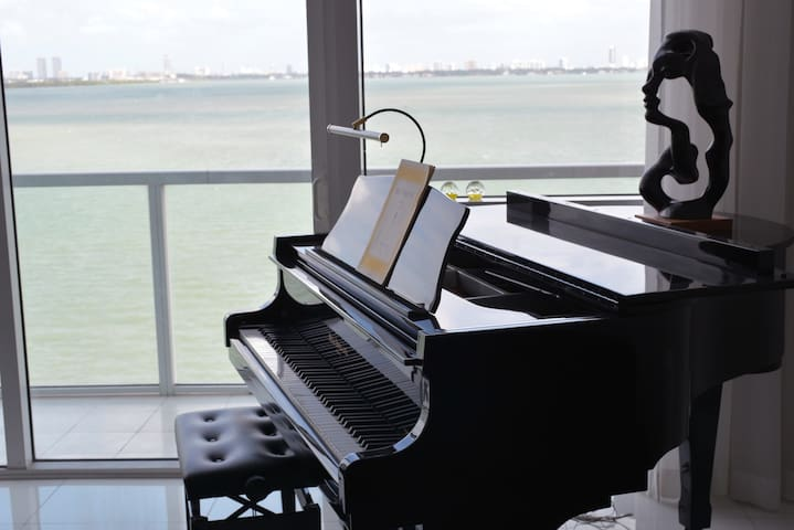 Waterfront Miami loft with Stunning views - Miami - Loft