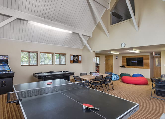 Have a friendly competition in the games room