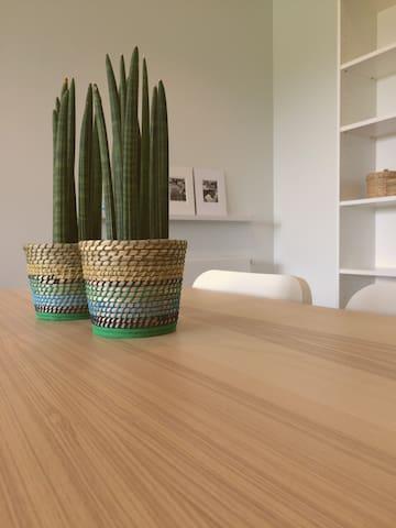 60m² spacious, modern apartment