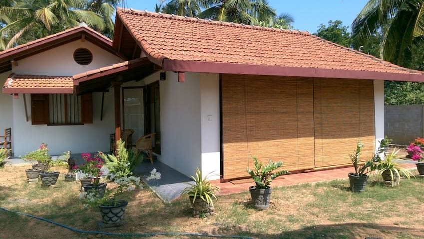 Tranquil bungalow with a courtyard - Kalpitiya - Bed & Breakfast