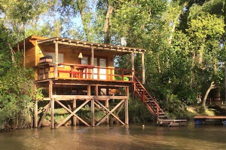 Eco Cabaña Río, confort y naturaleza.