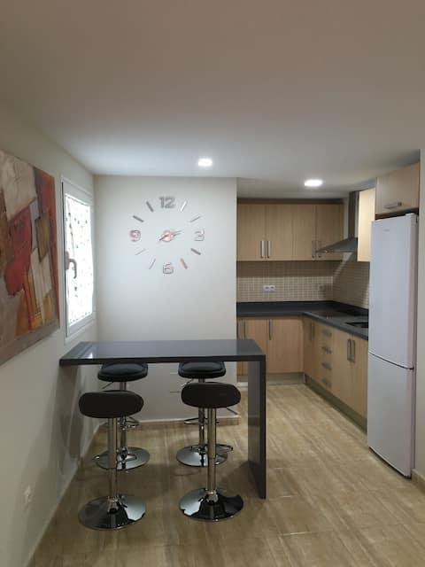 Appartement moderne dans le centre-ville de Mar Pequeña à Telde